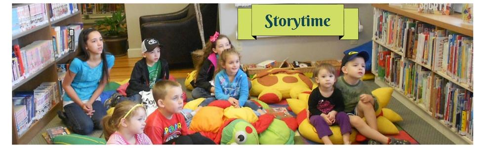 Storytime start September 8th!