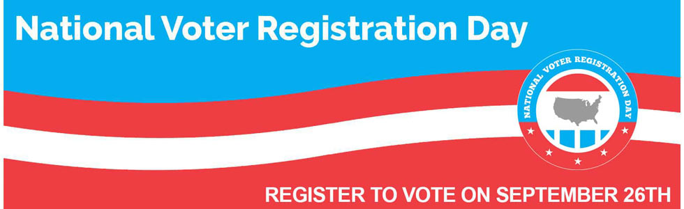 Register to vote…at the Library!