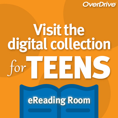 teens digital collection and eReading room