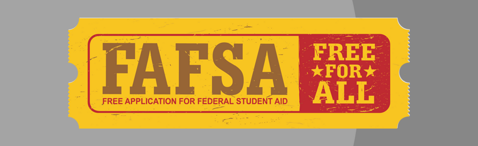 free application for federal student aid logo
