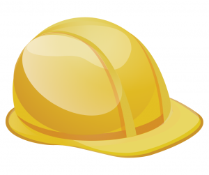 Image of a yellow hard hat